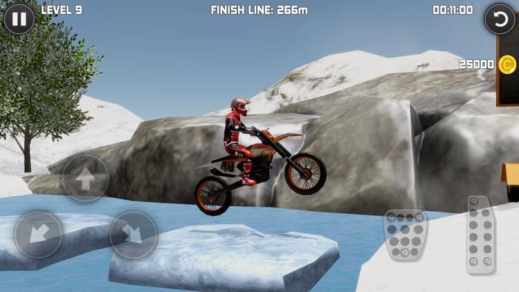 Bike Trials Winter screenshot-0