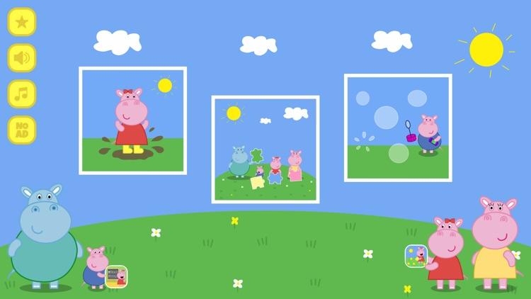 Peggy Hippo - Muddy Puddles screenshot-4