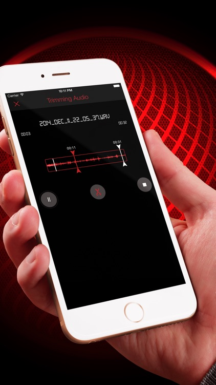 HD Audio Recorder : Voice Memo