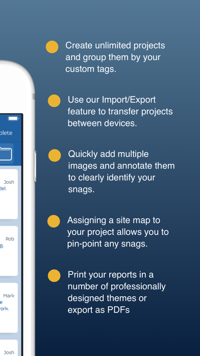 Snag List - Audit & Report | App Price Drops