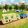 坎珀 面包车 卡车 停車處 RV 汽车 拖车 模拟器