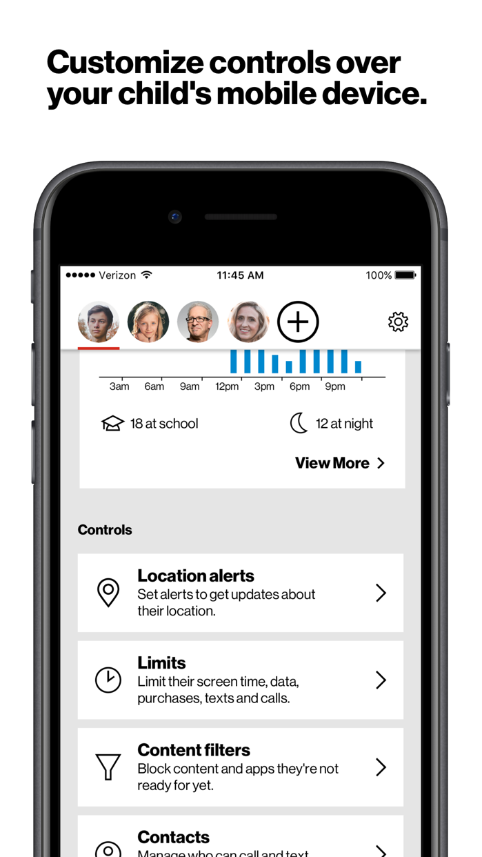 Verizon Smart Family™ Screenshot