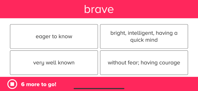 ‎3rd Grade Vocabulary Prep Screenshot