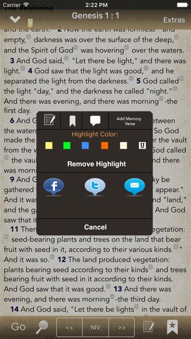BibleScope screenshot two