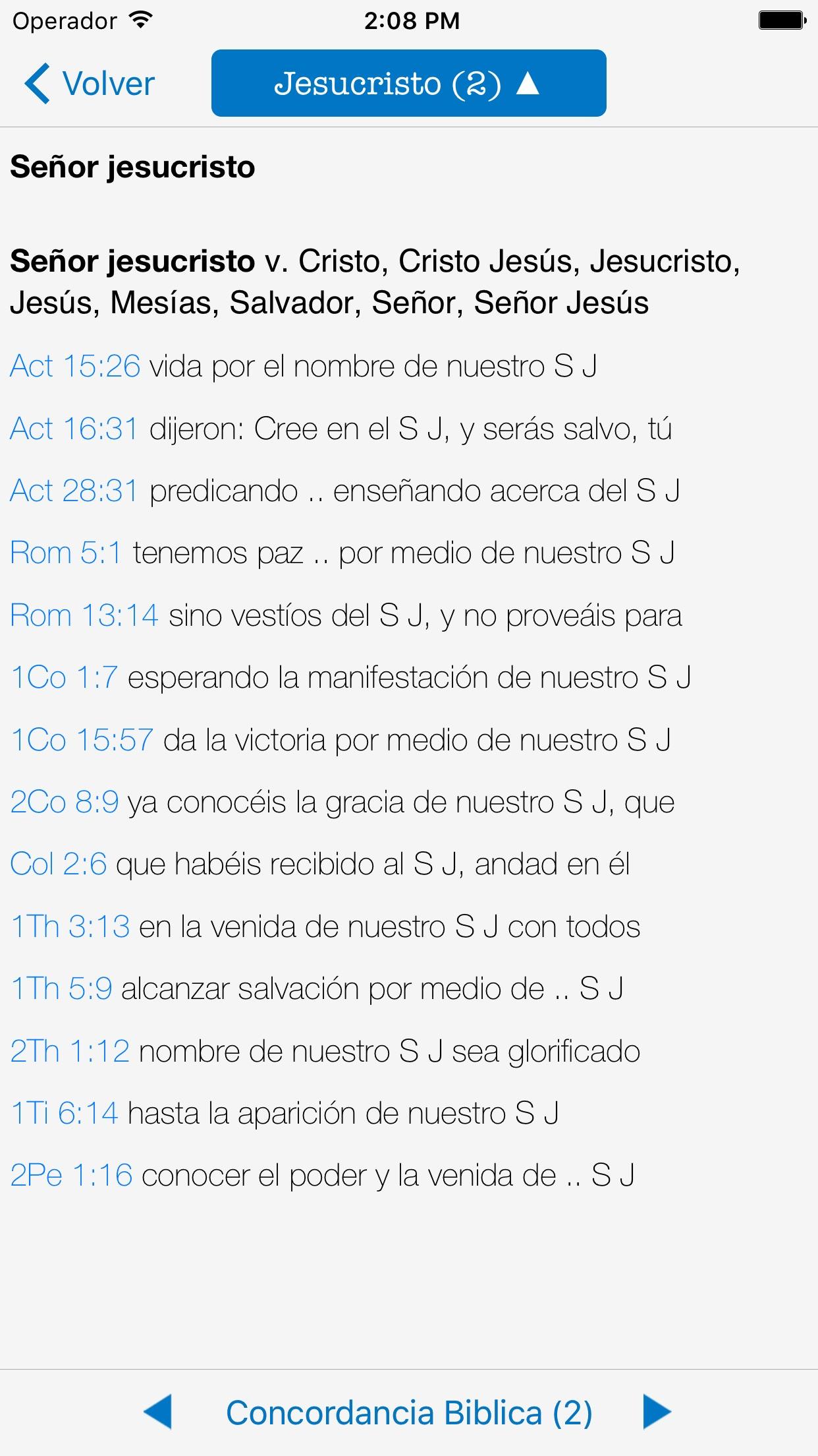 Study Bible and Audiobook Screenshot