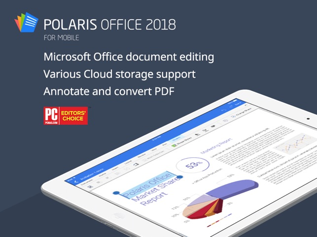 Polaris Office 2018 -Docs, PDF Screenshot
