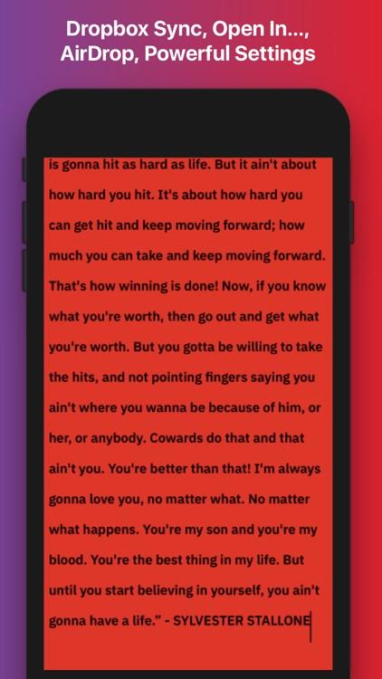 Writemator - Plain Text Editor screenshot-5