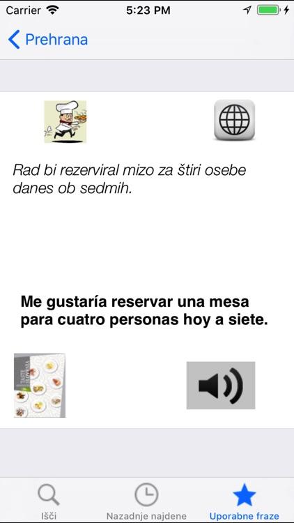 Diccionario Español Esloveno screenshot-4