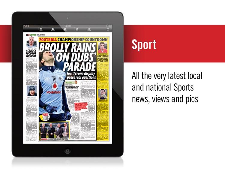 Irish Mirror Newspaper (iPad) screenshot-3