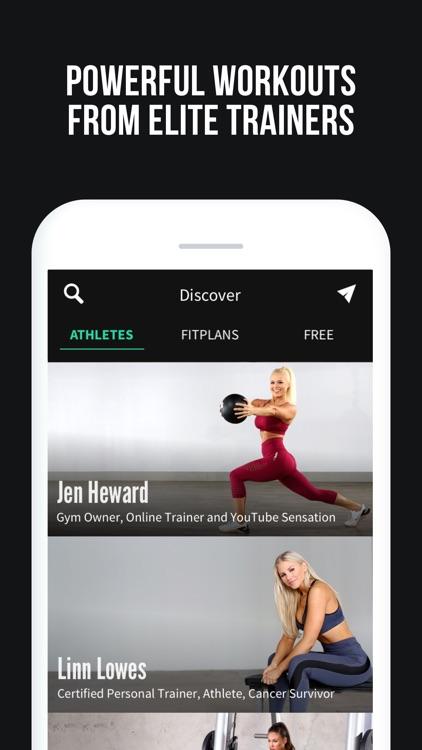 Fitplan: Gym & Home Workouts screenshot-0