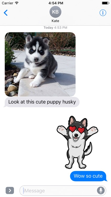 My HuskyMoji Dog Stickers