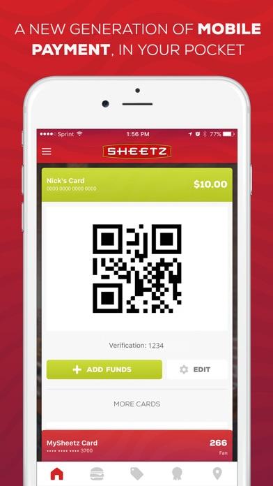 Sheetz review screenshots
