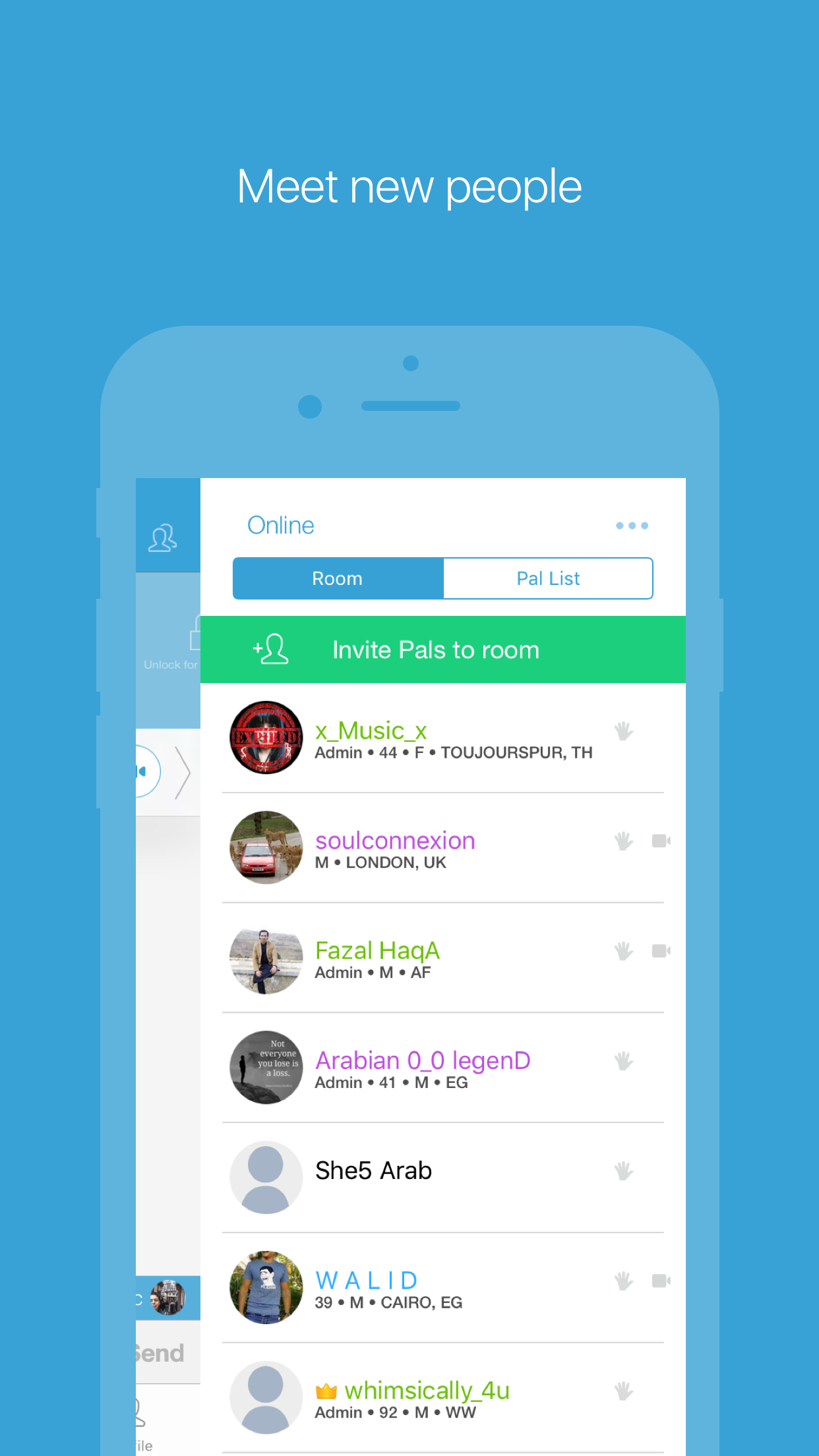 Paltalk - Group Video Chat App Screenshot