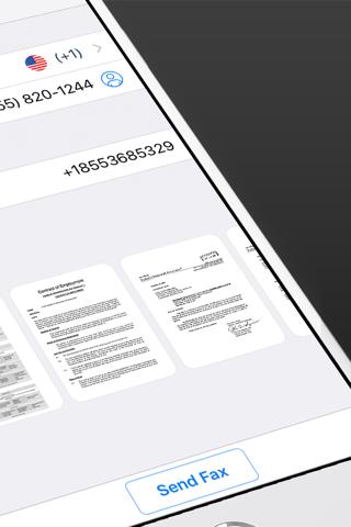 Fax from iPhone - Send Fax App screenshot 2