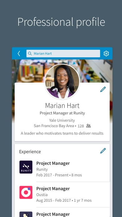 Screenshot for LinkedIn in United States App Store