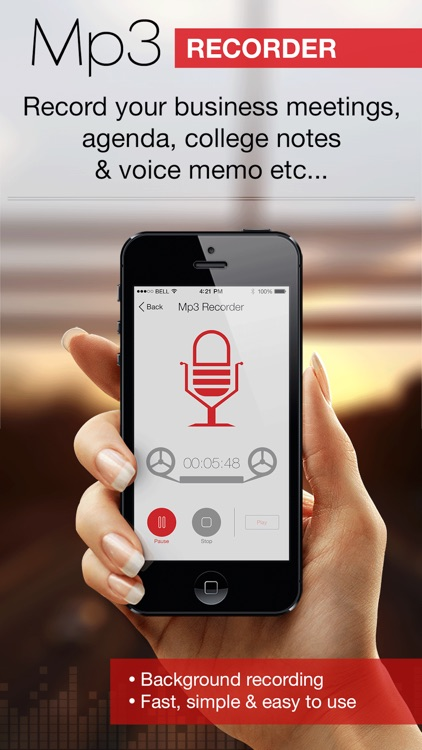 Mp3 Recorder Pro: Voice Record
