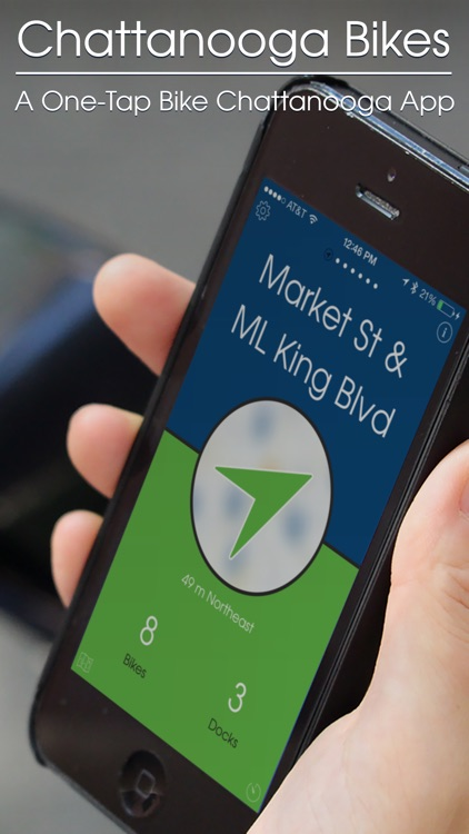 Chattanooga Bikes — A One-Tap Bike Chattanooga App