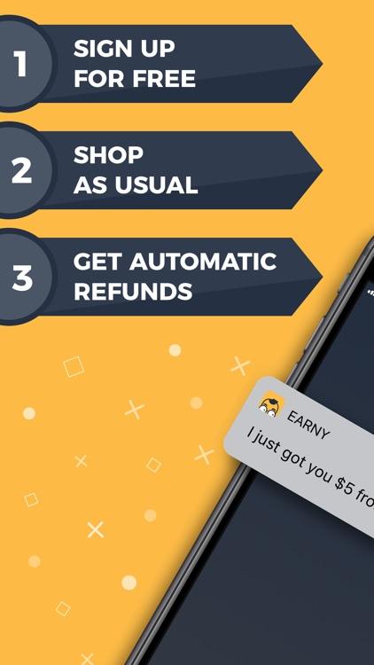 Earny: Automatic Cash Back screenshot-0