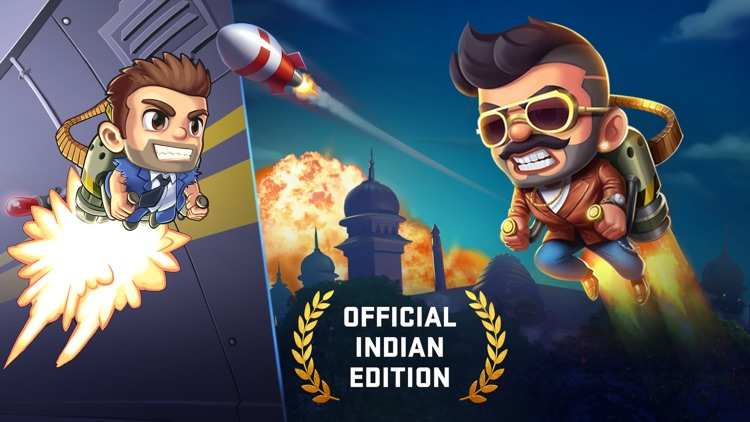 Jetpack Joyride India Official screenshot-0