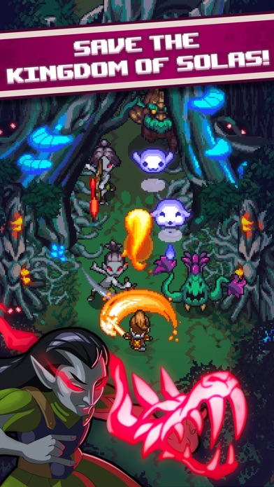 Dash Quest Heroes screenshot #2