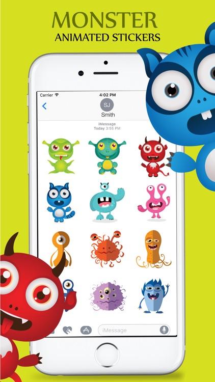 Animated Cute Monsters screenshot-3