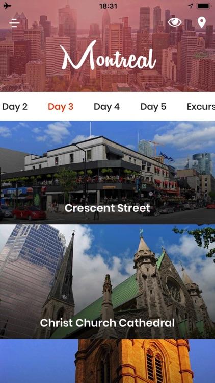 Montreal Travel Guide Offline