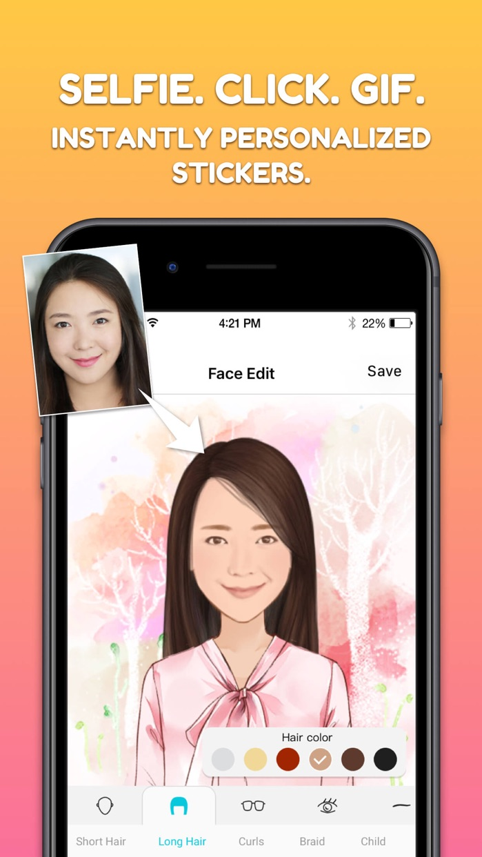 MojiPop - My Emoji Avatar Screenshot