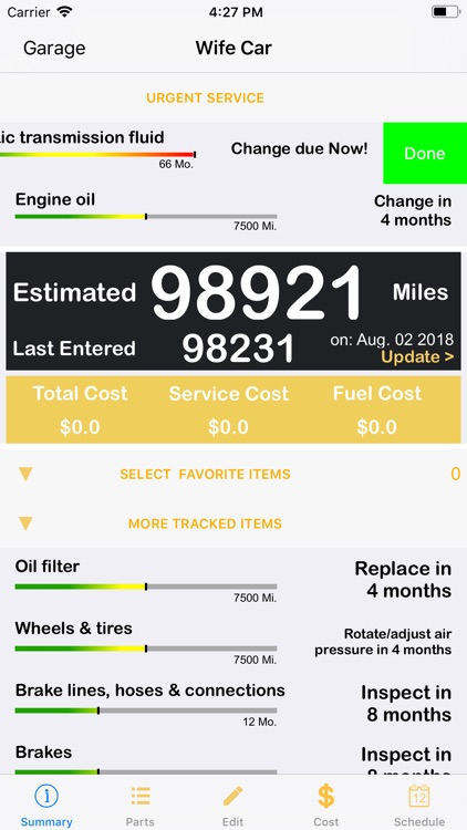 ServiceAlert Car Repair & Cost screenshot-1