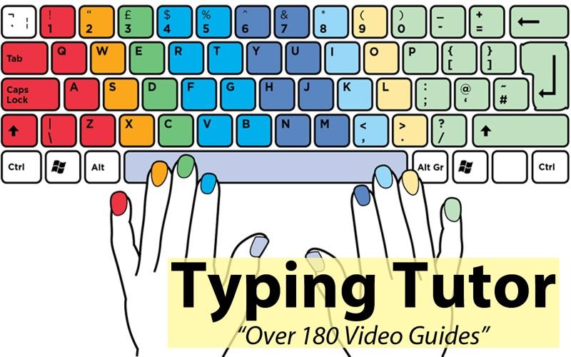Typing Tutor screenshot 1