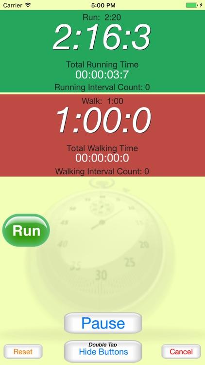 Running Interval Timer Pro screenshot-3