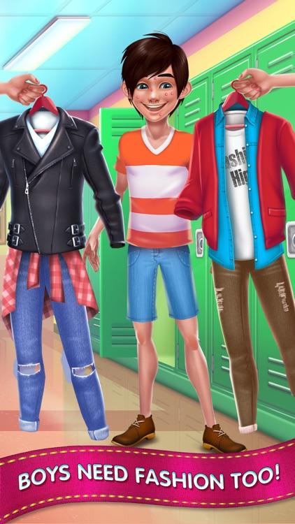Fashion School Girl screenshot-3