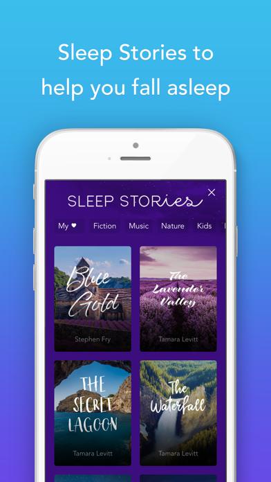 Screenshot 1 for Calm's iPhone app'