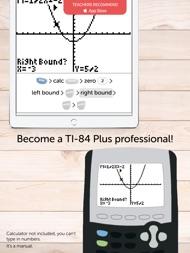 TI 84 Graphing Calculator Man. ipad images