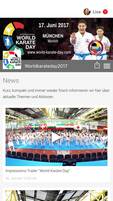 Worldkarateday2017 screenshot 1