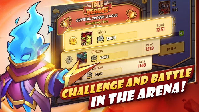 Idle Heroes - Idle Games Screenshot