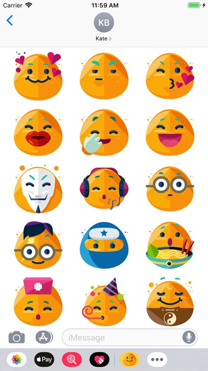 iSmiley Emoji Stickers screenshot-3