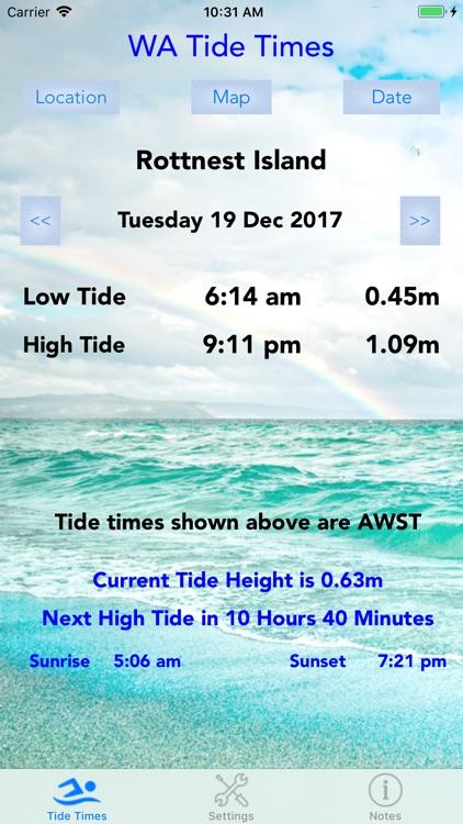 WA Tide Times screenshot-3