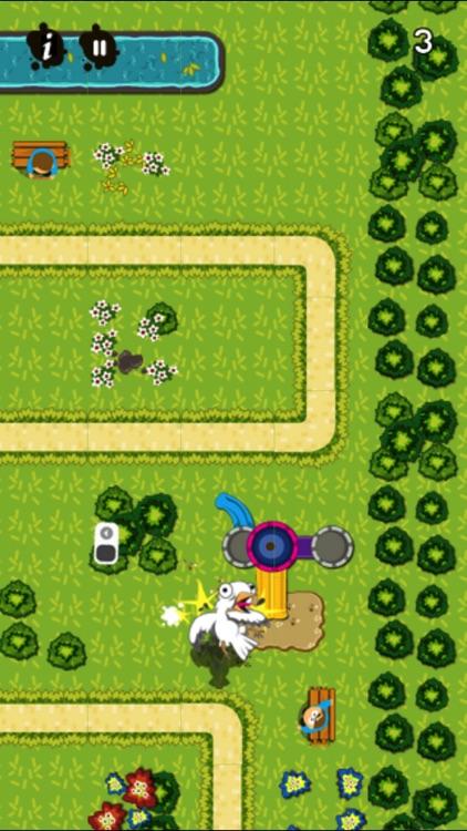 Guano! Birds Poop Head Hunter screenshot-3