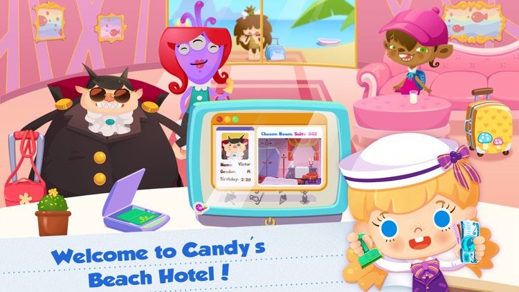 Candy's Vacation: Beach Hotel