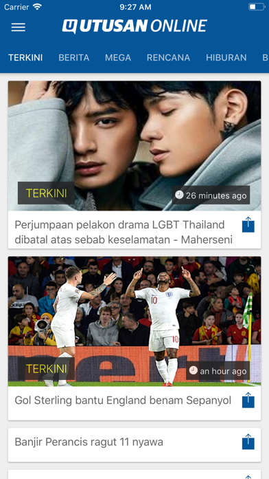 Utusan OnlineScreenshot of 1