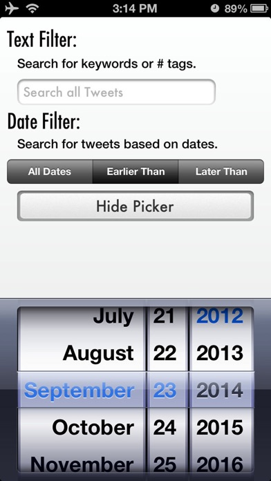 Tweet Cleaner - Delet... screenshot1