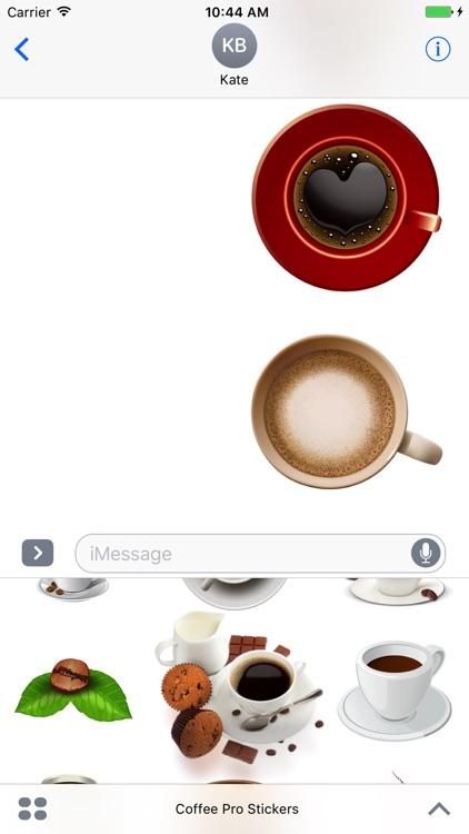Coffee Pro Stickers screenshot-4