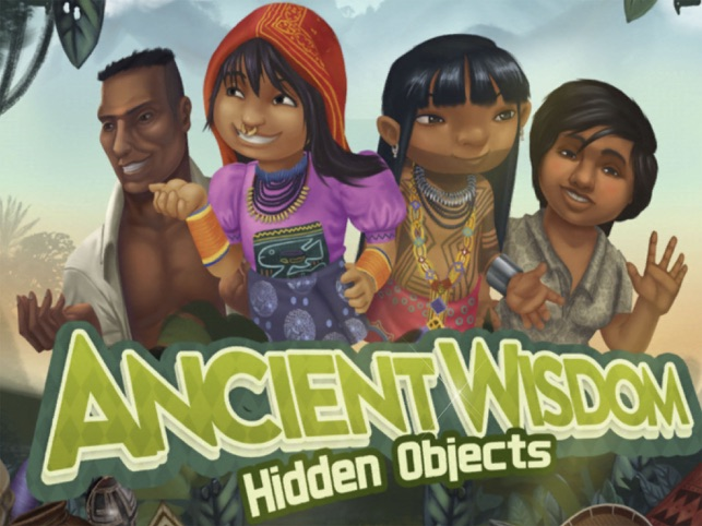 Ancient Wisdom Hidden Objects