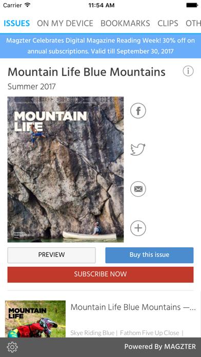 Mountain Life Blue MountainsScreenshot of 1