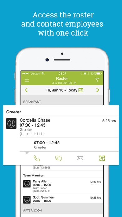 HotSchedules app image