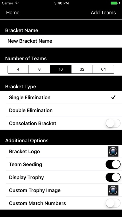 Bracket Maker Pro screenshot-2