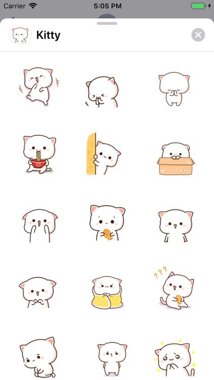 Kitty - Gif Cat Sticker Lovers screenshot-4