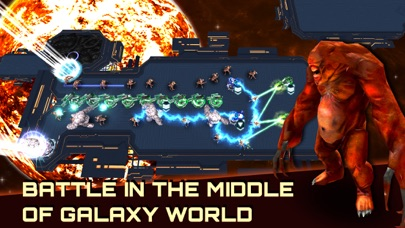 Alien Demons TD: Battle of Humans in Galaxy War Screenshot 2