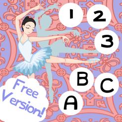 ABC & 123 Ballet Dancer-s School: Full Games For Kids!