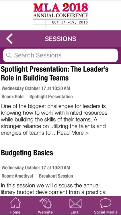 Michigan Library Conference 18 screenshot-3